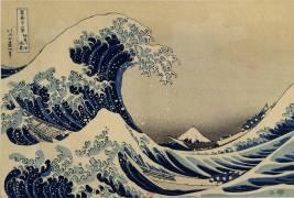 La grande vague (Hokusai) - Muzeo.com