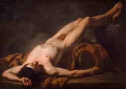 Académie d'homme dite Hector (David Jacques Louis) - Muzeo.com
