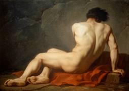 Académie d'homme dite Patrocle (Jacques Louis David) - Muzeo.com
