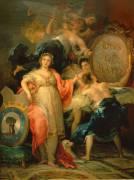 Allégorie de la ville de Madrid (De Goya Francisco) - Muzeo.com