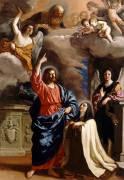 Apparition du Christ à sainte Thérèse (Le Guerchin) - Muzeo.com