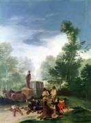 Attaque d'une diligence (De Goya Francisco) - Muzeo.com