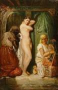 Bain au sérail (Théodore Chasseriau) - Muzeo.com