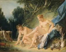 Bain de Diane (François Boucher) - Muzeo.com