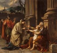 Bélisaire demandant l'aumône (David Jacques Louis) - Muzeo.com