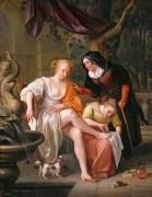 Bethsabée après le Bain (Jan Steen) - Muzeo.com