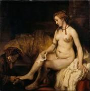 Bethsabée au bain (Rembrandt Harmensz van Rijn) - Muzeo.com