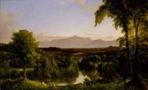 Chutes du Catskill (Cole Thomas) - Muzeo.com