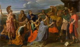 Coriolan vaincu par sa femme et sa mère (Poussin Nicolas) - Muzeo.com