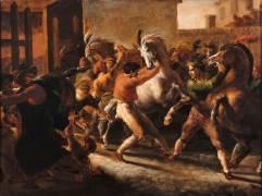 Course de chevaux libres à Rome (Théodore Géricault) - Muzeo.com