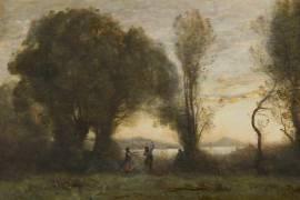 Danse des bergers de Sorrente (Corot Jean-Baptiste Camille) - Muzeo.com