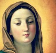 Détail de la Madone (Guido Reni) - Muzeo.com