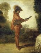 Détail de L'Enchanteur (Watteau Antoine) - Muzeo.com