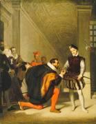 Don Pedro de Tolède baisant l'épée d'Henri IV (Ingres Jean-Auguste-Dominique) - Muzeo.com
