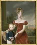 Duchesse de Berry avec le duc de Bordeaux (,D'après Gérard François...) - Muzeo.com