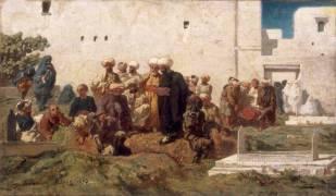 Enterrement Maure (Eugène Fromentin) - Muzeo.com