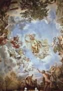 Fresque du plafond du Hall de Mars (Pierre de Cortone) - Muzeo.com