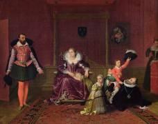 Henry IV recevant l'ambassadeur d'Espagne (Ingres Jean-Auguste-Dominique) - Muzeo.com