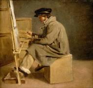 Jeune peintre à son chevalet (Géricault Théodore...) - Muzeo.com