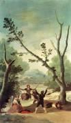 La balançoire (De Goya Francisco) - Muzeo.com