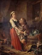La belle cuisinière (François Boucher) - Muzeo.com