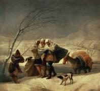 La Chute de Neige (De Goya Francisco) - Muzeo.com