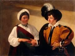 La Diseuse de bonne aventure (Le Caravage) - Muzeo.com