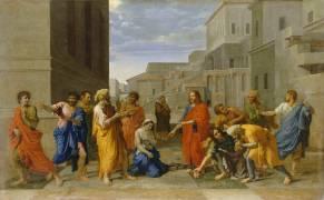 La Femme adultère (Poussin Nicolas) - Muzeo.com