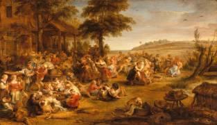 La kermesse ou Noce de village (Pierre Paul Rubens) - Muzeo.com