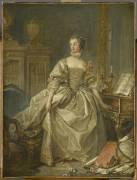La marquise de Pompadour (1721-1764) (Boucher François) - Muzeo.com
