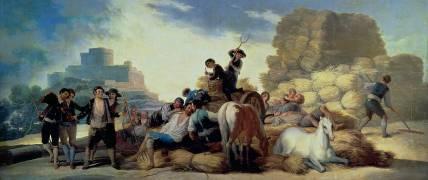 La Moisson (Francisco de Goya) - Muzeo.com