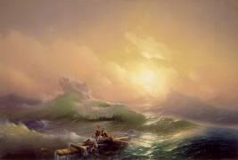 La Neuvième Vague (Ivan Aivazovsky) - Muzeo.com