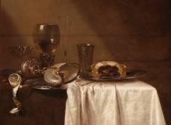 La tourte au cassis (Heda Willem Claesz) - Muzeo.com