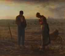L'Angélus (Jean-François Millet) - Muzeo.com