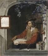 L'Apothicaire, dit aussi le Chimiste (Metsu Gabriel) - Muzeo.com