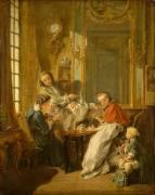 Le déjeuner (François Boucher) - Muzeo.com