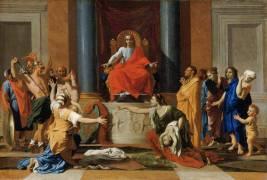 Le jugement de Salomon (Poussin Nicolas) - Muzeo.com