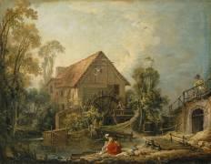 Le Moulin (Boucher François) - Muzeo.com