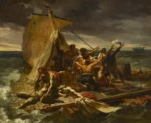 Le radeau de la Méduse, première esquisse (Géricault Théodore) - Muzeo.com