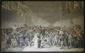 Le serment du Jeu de Paume, 20 juin 1789 (Merson Luc Olivier ,D'après...) - Muzeo.com