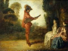 L'Enchanteur (Antoine Watteau) - Muzeo.com