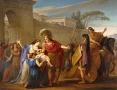 Les Adieux d'Hector et Andromaque (Joseph Marie Vien) - Muzeo.com
