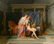 Les Amours de Pâris et Hélène (Jacques Louis David) - Muzeo.com