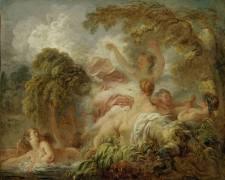 Les Baigneuses (Jean-Honoré Fragonard) - Muzeo.com