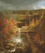 Les chutes de Kaaterskill (Thomas Cole) - Muzeo.com