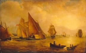 L'estuaire de la Tamise et de la Medway (Turner Joseph Mallord William...) - Muzeo.com