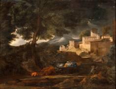 L'Orage (dit l'orage Pointel) (Poussin Nicolas) - Muzeo.com