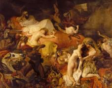 Mort de Sardanapale (Delacroix Eugène) - Muzeo.com