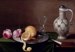 Nature morte au pichet (Jacob van Es) - Muzeo.com