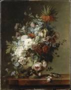 Nature morte aux fleurs (Cornelius van Spaendonck) - Muzeo.com